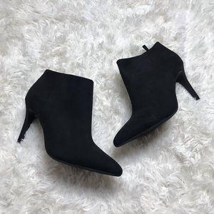 Black old navy heeled bootie